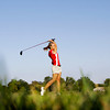 Jeffersonville High School junior Madison Kane drives the ball off the seventh tee during the Sunnyside Classic at Champions Pointe Golf Club in Henryville on Wednesday afternoon. Kane shot a 52 in the nine hole round. Staff photo by Christopher Fryer