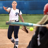 Providence pitcher Meredith Endris working against New Albany on Tuesday. Staff photo by C.E. Branham