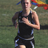 Henryville junior Sadie Spears won the girls race at the Charlestown Invitational Thursday. Staff photo by C.E. Branham
