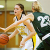 Floyd Central guard Riley Kaiser moves the ball down court during their game against South Oldham at Floyd Central on Wednesday. Staff photo by Christopher Fryer