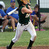 Floyd Central senior Kallie Krammes loaded the bases with a hit in the bottom of the sixth inning of the 4A Regional. Staff photo by C.E. Branham