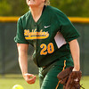 Floyd Central High School pitcher Caroline Cato pitches during the third inning of their home game against Providence High School on Friday evening. Floyd Central won the game 7-0. Staff photo by Christopher Fryer