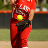 Jeffersonville High School's Kayla Poppe pitches during their away game against Silver Creek High School on Friday evening. Jeffersonville won the game, 6-3. Staff photo by Christopher Fryer