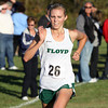 Floyd Central cross country runner Alyssa Moore placed second overall at the Crawford County Sectional on Tuesday. Staff photo by C.E. Branham