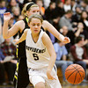 Providence guard Kacie Pace passes the ball during their home game against Clarksville on Friday. Staff photo by Christopher Fryer