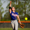 Silver Creek's Shayla Cravens pitches during the Dragons' 9-3 home win over Henryville on Monday. Staff photo by Christopher Fryer