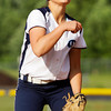Providence senior Kristan Markland pitches during their game against Eastern in the championship round of the Eastern sectional tournament on Thursday. Providence won the game in five innings, 19-2. Staff photo by Christopher Fryer