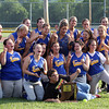 The IHSAA 1A Sectional 62 champion Lady Mustangs of New Washington High School. Staff photo by C.E. Branham