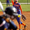 Silver Creek's Shayla Cravens pitches during their game against Trinity in the New Albany softball invitational on Saturday. Silver Creek won the game in six innings, 16-0, and placed third in the tournament. Staff photo by Christopher Fryer