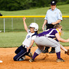 Providence junior Jessica Payne slides safely into second base on a steal during their game against Eastern in the championship round of the Eastern sectional tournament on Thursday. Providence won the game in five innings, 19-2. Staff photo by Christopher Fryer