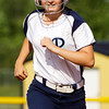 Providence freshman Marlee Karem rounds the bases after hitting a home run during their game against Eastern in the championship round of the Eastern sectional tournament on Thursday. Providence won the game in five innings, 19-2. Staff photo by Christopher Fryer
