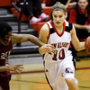 New Albany guard Tanner Marcum drives the ball down court during their home game against Ballard on Thursday. New Albany lost the game, 60-51. Staff photo by Christopher Fryer