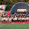 New Albany takes the field before the Bulldogs' home game against Castle on Friday. Staff photo by Christopher Fryer