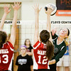 Floyd Central's Hannah Joly goes up for a shot during the Highlanders' home game against DuPont Manual on Thursday. Staff photo by Christopher Fryer