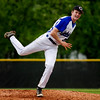 Charlestown's Austin Smith pitches during the Pirates' 11-2 home loss to Silver Creek on Monday. Staff photo by Christopher Fryer
