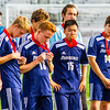 Providence Boys Varsity Soccer team receives runner up medals after the IHSAA Class A state finals game, held at the IU Michael A. Carroll Sadium in Indianapolis on Saturday. Staff Photo By Josh Hicks