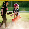 Jeffersonville's Juliette Schuur slides safely into second base during the Red Devils' 12-2 loss in five innings at New Albany on Monday. Staff photo by Christopher Fryer