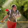 Jeffersonville's Jennah Tincher pitches during the Red Devils' 12-2 loss in five innings at New Albany on Monday. Staff photo by Christopher Fryer