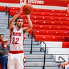 Jeffersonville's Mike Minton takes a wide open shot during their game against Ft. Wayne at Johnson Arena on Saturday. Staff Photo By Josh Hicks