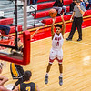 Jeffersonville's Jacob Jones sinks a three-pointer in the opening round of the inaugural Ted Throckmorton Memorial Tournament at Johnson Arena in Jeffersonville. Staff Photo By Josh Hicks