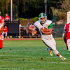 Floyd Central's Devon Stikes runs the ball during the Highlanders' game against Jeffersonville on Friday.