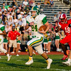 Floyd Central's Tyler Edwards runs the ball in for the first touchdown of the Highlanders' game against Jeffersonville on Friday. Staff Photos By Josh Hicks