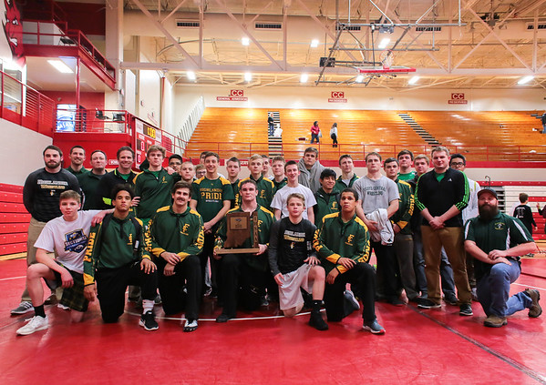 With 283.5 points, Floyd Central locks in the sectional championship at Johnson Arena on Saturday. Staff Photo By Josh Hicks