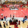 Sixteen schools from Indiana and Kentucky took to the mats for Jeffersonville High School's Wrestling Classic this year, on Saturday. Staff Photo By Josh Hicks