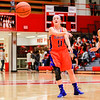 Silver Creek's Abby May makes a long pass during their game against Jeffersonville on Friday. Staff Photo By Josh Hicks