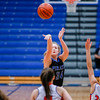 Charlestown's Samantha Matthews makes a long range shot during their Holiday Tournament game against Silver Creek at Charlestown High School on Thursday. Staff Photo By Josh Hicks
