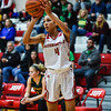 Jeffersonville guard Tori Handley attempts a 3-pointer during the Red Devils' 35-24 win over Floyd Central on Thursday. Staff photo by Tyler Stewart