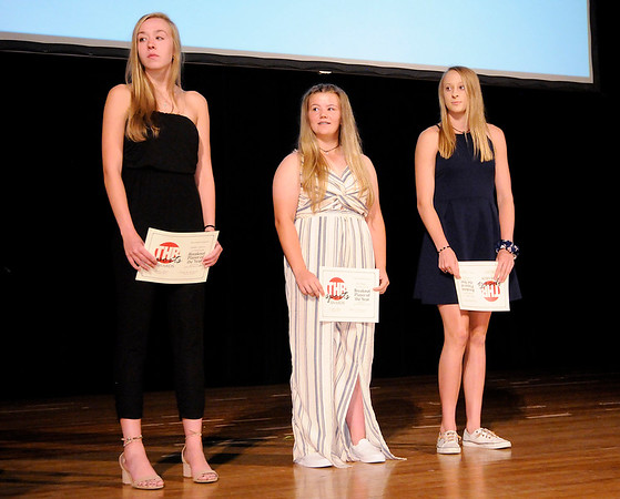 Don Knight | The Herald Bulletin<br /> THB Sports Awards at the Paramount on Tuesday.