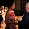 Don Knight | The Herald Bulletin<br /> Shenandoah's Erika Hill is interviewed by Zach Johnson after being named the girls Athlete of the Year during the THB Sports Awards at the Paramount on Tuesday.