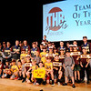 Don Knight | The Herald Bulletin<br /> The Alexandria baseball team was named the Team of the Year during the THB Sports Awards at the Paramount on Tuesday.