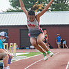 Jeffersonville's MacKenzie Fountain finished seventh at the Bloomington North regional championship on Tuesday. Photo by Joe Ullrich
