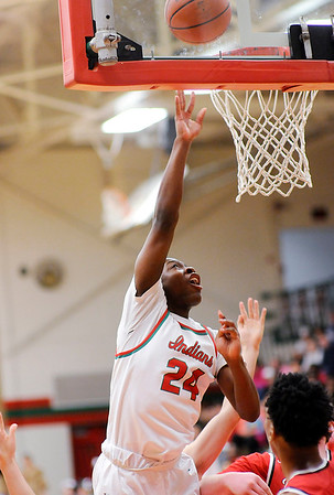Don Knight |  The Herald Bulletin<br /> Anderson hosted Richmond on Thursday.