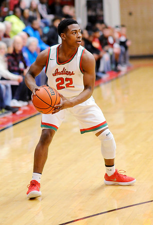 Don Knight    The Herald Bulletin<br /> Anderson hosted Richmond on Thursday.