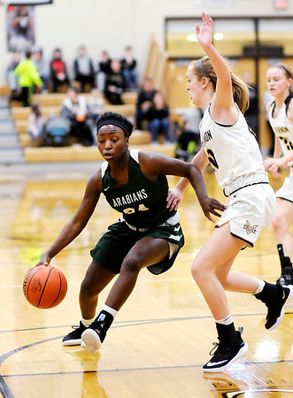 Don Knight   The Herald Bulletin<br /> Mt. Vernon hosted Pendleton Heights in the sectional semifinal on Friday.