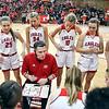 Frankton vs Tipton in 2A Girls Basketball Regional.