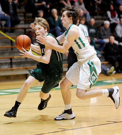 Don Knight | The Herald Bulletin<br /> Pendleton Heights faced New Castle on Tuesday.