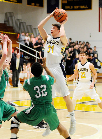 Don Knight   The Herald Bulletin<br /> Shenandoah hosted Yorktown on Wednesday.