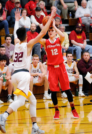 Don Knight | The Herald Bulletin<br /> Alexandria hosted Frankton on Friday.