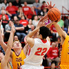 Don Knight | The Herald Bulletin<br /> Frankton hosted Alexandria on Friday.