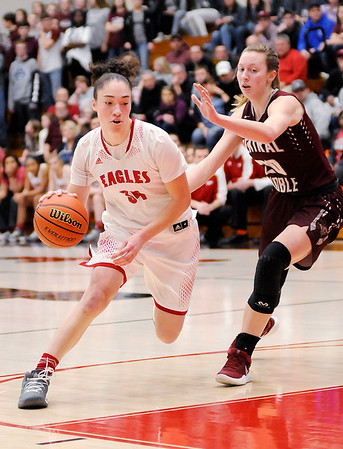 Don Knight | The Herald Bulletin<br /> Frankton faced Central Noble in the semi-state at Logansport on Saturday.