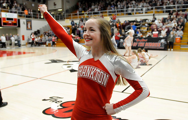 Don Knight   The Herald Bulletin<br /> Frankton faced Central Noble in the semi-state at Logansport on Saturday.