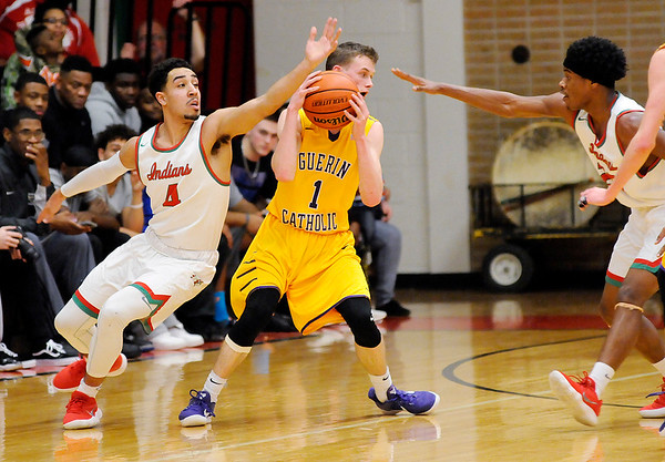 Don Knight | The Herald Bulletin<br /> Anderson hosted Guerin Catholic on Tuesdasy.