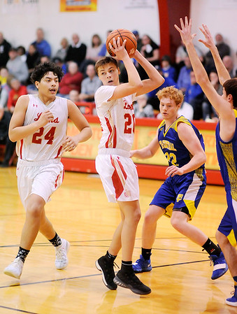Don Knight | The Herald Bulletin<br /> Liberty Christian hosted Tri-Central on Thursday.