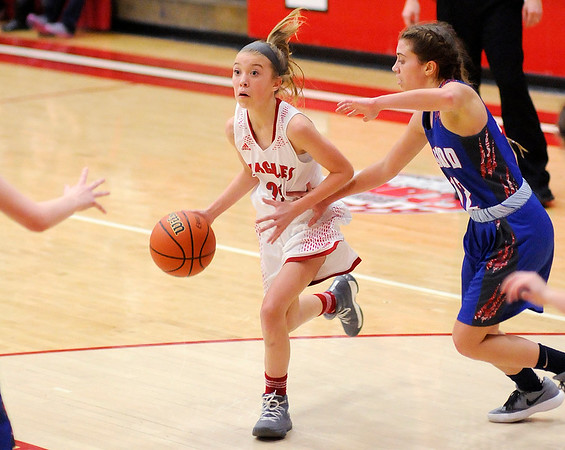 Don Knight | The Herald Bulletin<br /> Frankton hosted Elwood in a sectional semifinal on Friday.