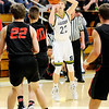 Don Knight | The Herald Bulletin<br /> Shenandoah's Kaden McCollough shoots a three-point basket as the Raiders hosted Wapahani on Friday.