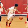 John P. Cleary | The Herald Bulletin<br /> Manual vs Liberty Christian in boys basketball.